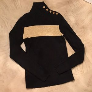 Sweater - mock neck